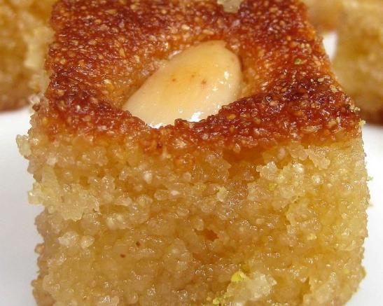 עוגת סולת – ספרה- שלמות טריפוליטאית מתוקה.