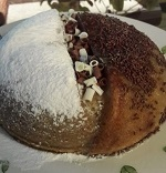 עוגת גבינה ואגוזי נוצ'לה