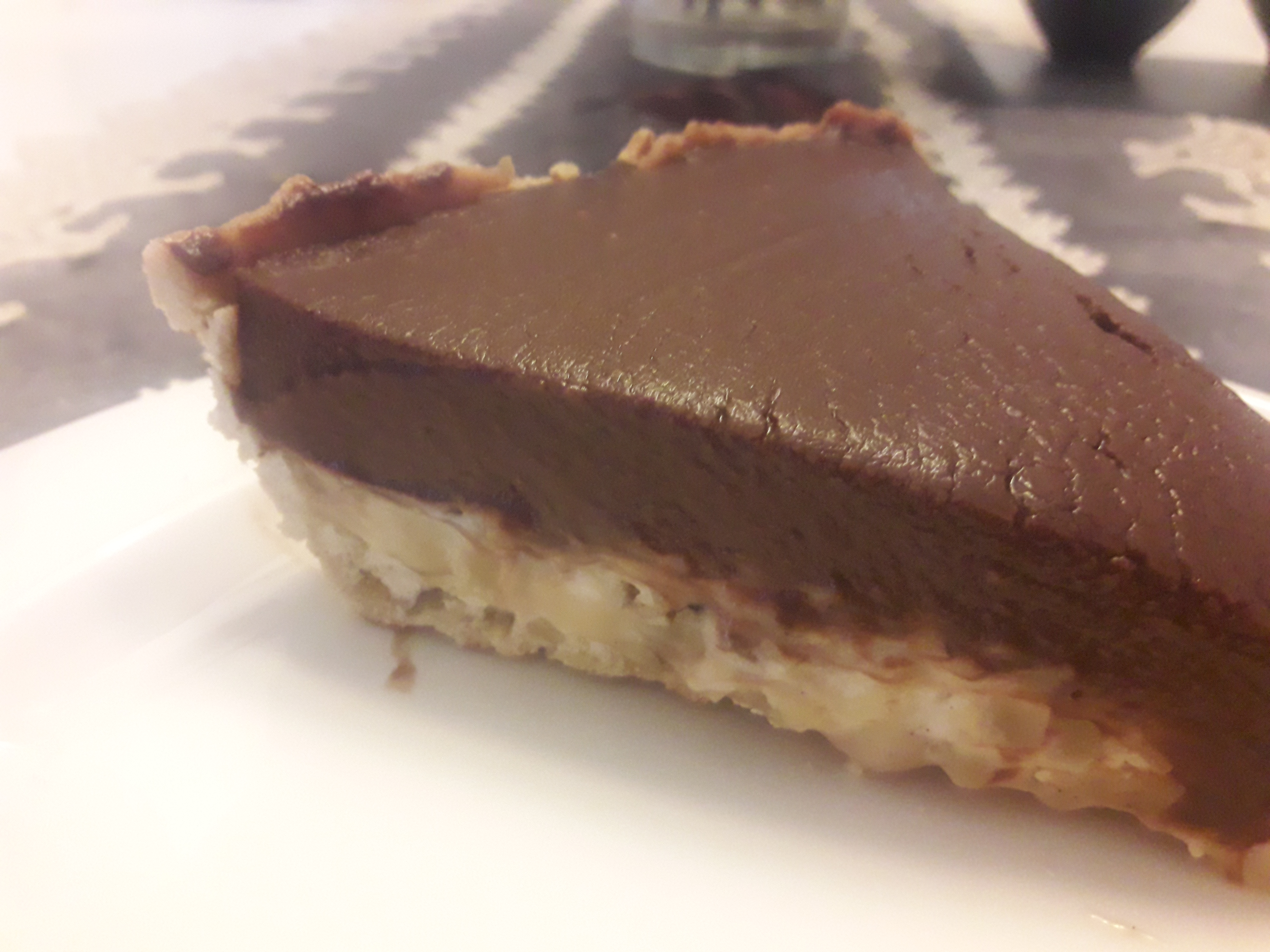 טארט קרמל פטיסייר אגוזים ושוקולד או במילים אחרות…מתיקות האהבה במיטבה !!!